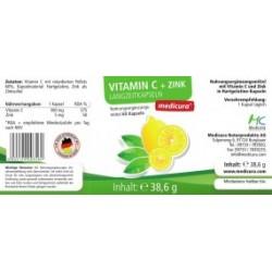 Vitamina C Efecto retardado + Zink