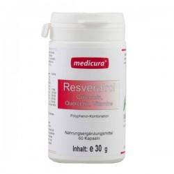 Resveratrol + Curcumina, Quercitina + Vitaminas.