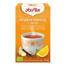 Té Jengibre Naranja y Vainilla