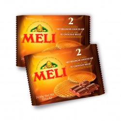Expositor Gofres Miel + Chocolate Belga