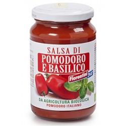 Bio Salsa de Tomate y Albahaca