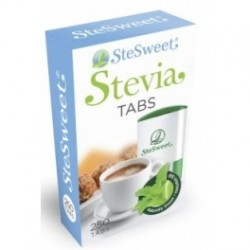 Stevia en tabletas.
